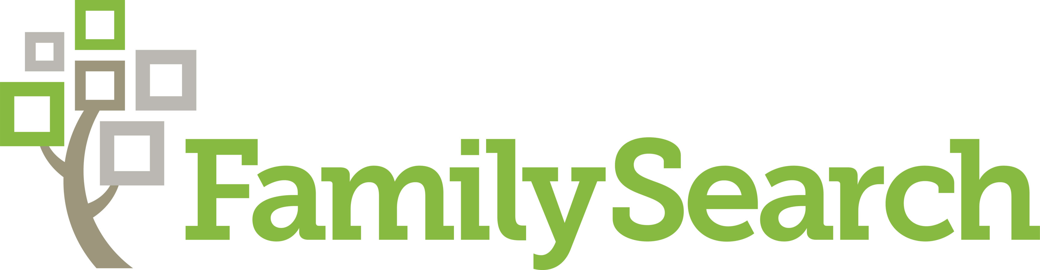 Family Tree Logo To advance family history
