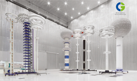 CG's 1600 kV Ultra High Voltage (UHV) Research Centre at Nashik, India (Photo: Business Wire)