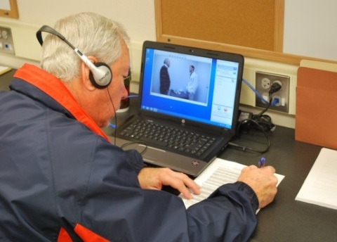 Polycom's RealPresence video capture series facilitates distance learning and patient care at Auburn's Harrison School of Pharmacy. (Photo: Business Wire)