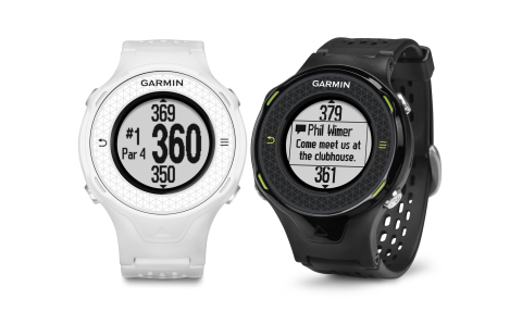 Introducing the Garmin Approach S4: a Sleek Golf Watch with High-Res Touchscreen Display and Smart N ...
