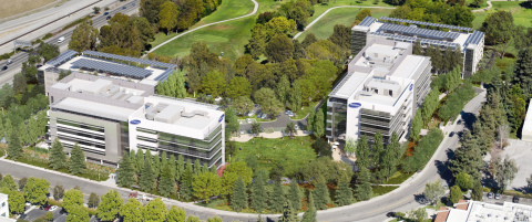 Rendering of Samsung Research America (SRA)'s new R&D Center in Mountain View, California. (Photo: Business Wire)
