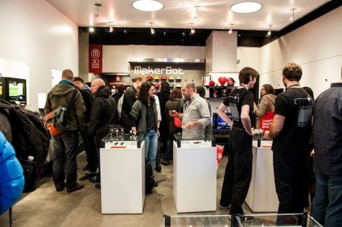 MakerBot, the leader in desktop 3D printing, is opening two new MakerBot Retail Stores in Greenwich, Conn., and Boston. The company currently has a MakerBot Store in New York City. (Photo: Business Wire)