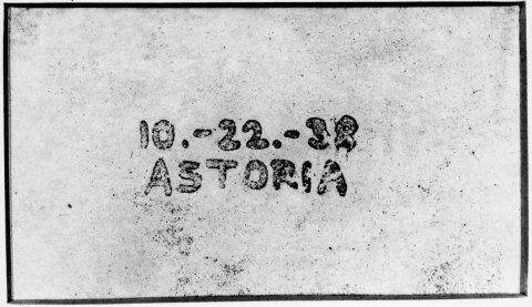 On Oct. 22nd, 75 years ago, inventor Chester Carlson created the world's first xerographic image. (P ...