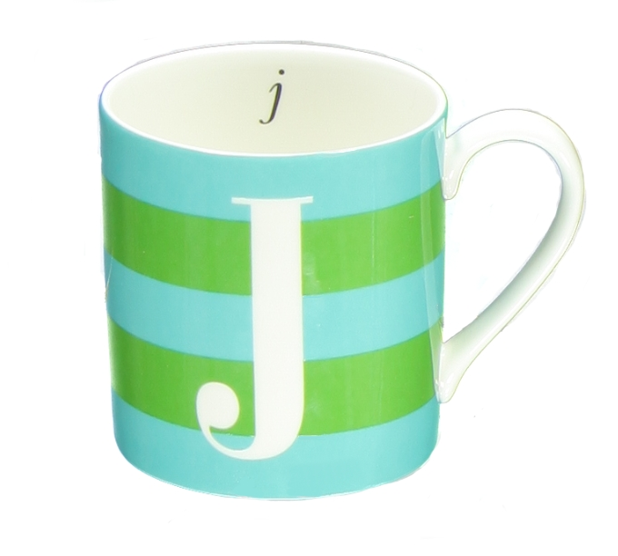 kate spade new york Initial Mug, $15, available at select Macy's (Photo: Business Wire)