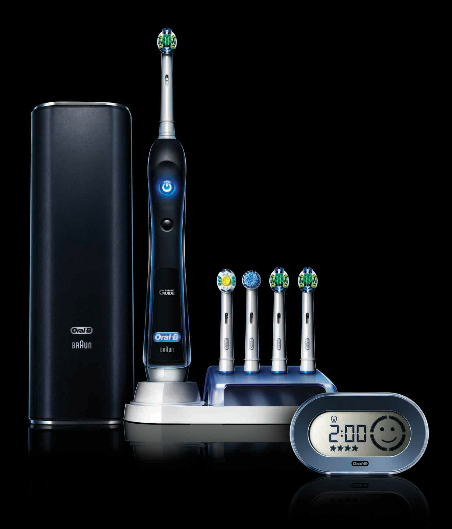 oral b launches the oral b black 7000 its most. Black Bedroom Furniture Sets. Home Design Ideas
