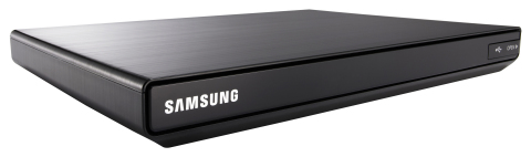 The Samsung Smart Media Player combines live cable TV content and over 100 Smart TV Apps to offer consumers an enhanced and seamless home entertainment experience all in one affordable device. (Photo: Business Wire)