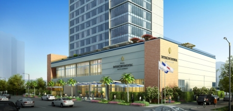 IHG breaks ground on the 225-room Real InterContinental® Santo Domingo hotel (Photo: Business Wire)