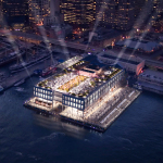 Rooftop of the future Pier 17 building (Photo: Business Wire)