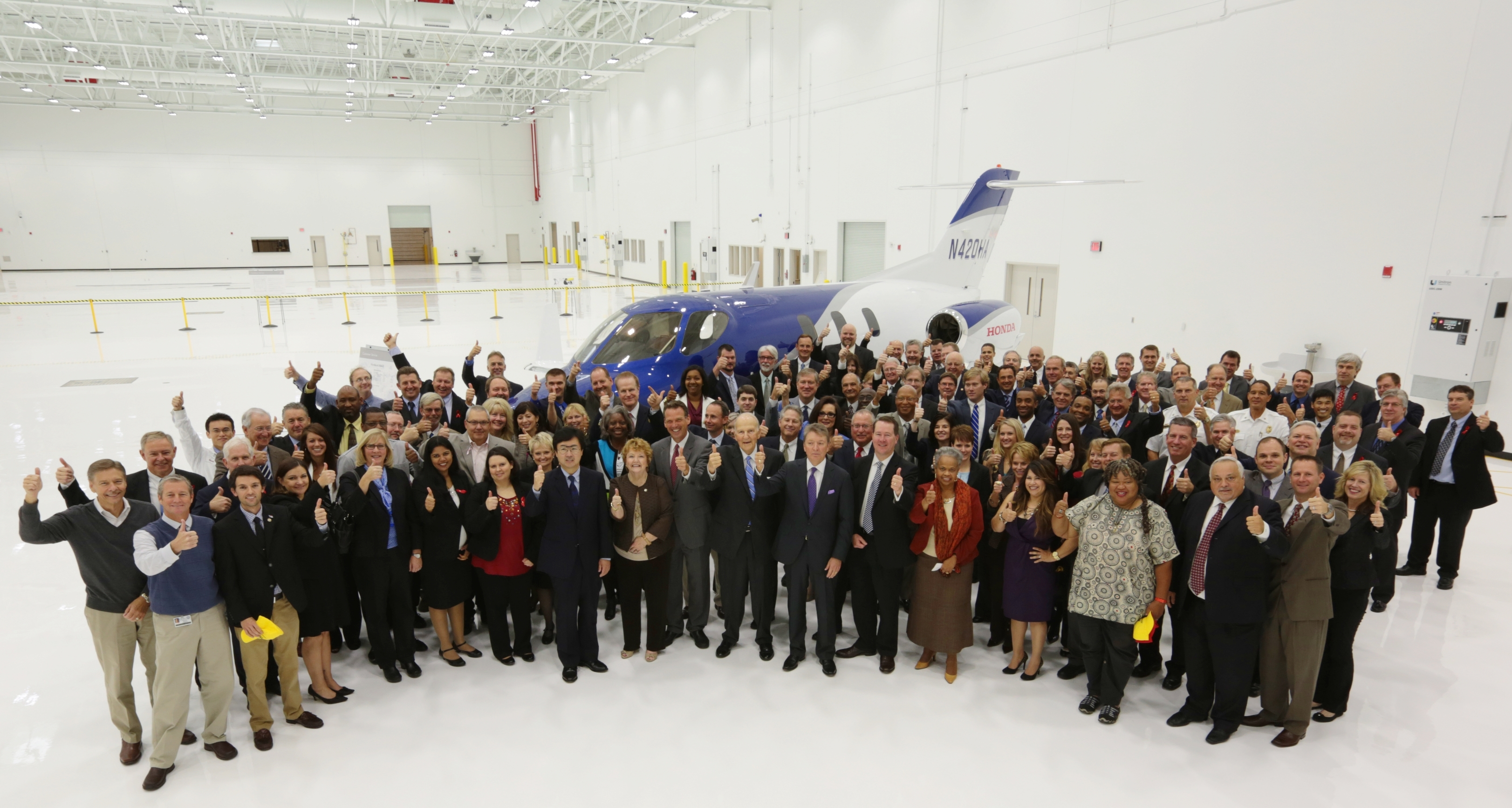 Honda Aircraft Company Opens New Customer Service Facility