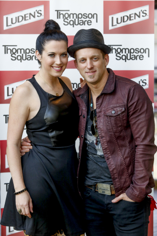 In Nashville today, country music duo Thompson Square (Keifer and Shawna Thompson) and Luden's annou ...