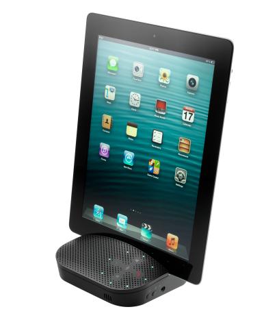 Logitech Mobile Speakerphone P710e (Photo: Business Wire)