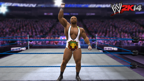 Big E Langston makes his WWE 2K14 debut as part of the game's Season Pass DLC. (Photo: Business Wire ...