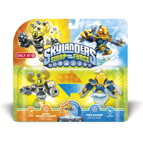 2-pk. Skylanders Swap Force (Target Exclusive) Photo: Target
