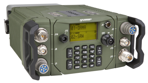 The Harris Falcon III Multi-channel Manpack is the first commercially developed radio with two radio ...
