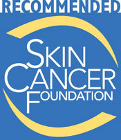 The Skin Cancer Foundation's Seal of Recommendation: AGC's UV Verre Premium(TM) Series tempered glass and Lamisafe(TM) laminated glass both meet The Skin Cancer Foundation standards, and are entitled to bear the following Seal. Sun protective products that are eligible for the Seal include: auto and residential glass and window film, sunscreens, sunglasses, awnings/umbrellas, clothing and laundry products. (Graphic: Business Wire)
