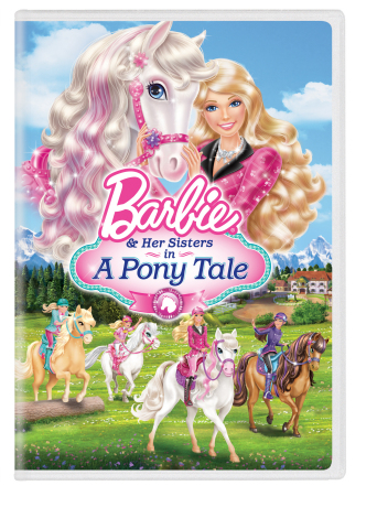 Barbie™ & Her Sisters in a Pony Tale, a direct-to-DVD release, shows that through the power of family and friendship, anything is possible. Available now at retailers nationwide. (Graphic: Business Wire)