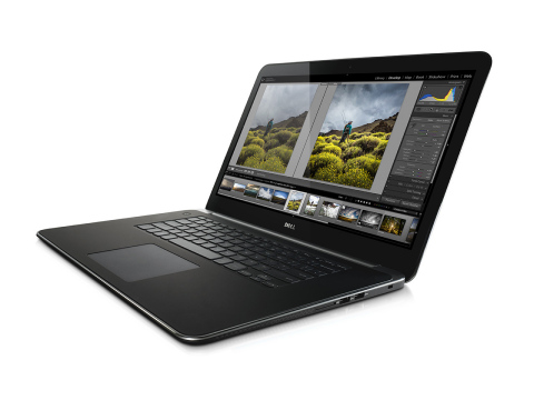 The Dell Precision M3800, the thinnest and lightest 15-inch mobile workstation, blends beautiful design with uncompromising performance. (Photo: Business Wire)