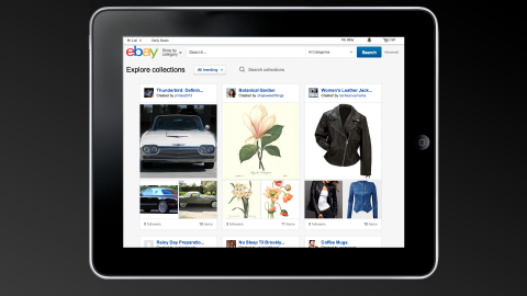Collections are groups of products that have been hand-selected from eBay's more than 500 million li ...