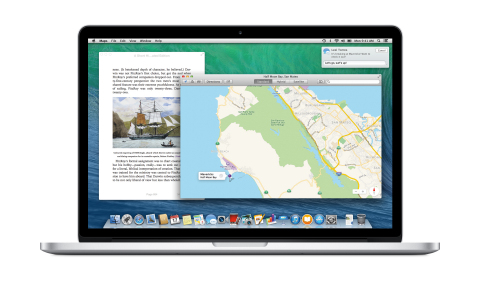 OS X Mavericks is available today for free from the Mac App Store and introduces more than 200 new features. (Photo: Business Wire)