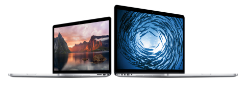 At 0.71-inches thin, the updated MacBook Pro with Retina display delivers unbelievable performance i ...