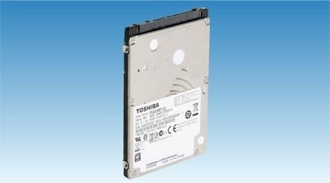Toshiba two-platter 7mm-height 2.5-inch HDD (Photo: Business Wire)