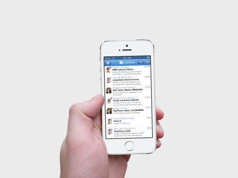 Cureatr's enterprise solution is available as either a native Android and iPhone app, in addition to a desktop version.
