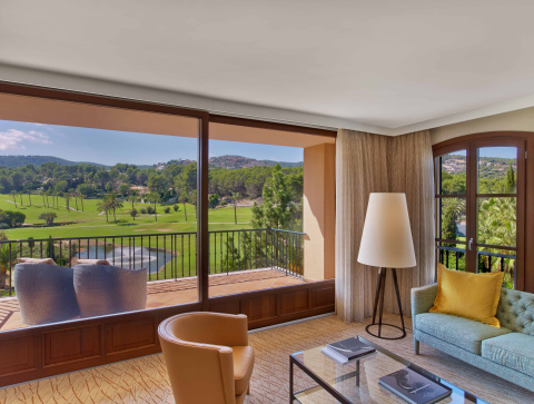 A view from the Hole-in-One suite at Sheraton Mallorca Arabella Golf Hotel (Photo: Business Wire)