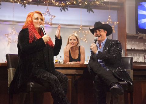 "Wynonna Judd, Sophie Monk and John Rich. ""RICH AT NIGHT,"" premieres on TVGN (TV Guide Network) on Mo ..."