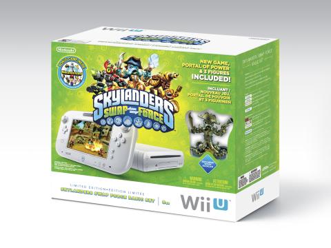Skylanders SWAP Force Wii U bundle (Photo: Business Wire)