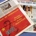 HONG KONG—AHF's 'Be Generous, China' advocacy ad ran in the Wall Street Journal-Asia edition and in Politico (in the United States) on Thursday, October 24, 2013. (Photo: Business Wire)