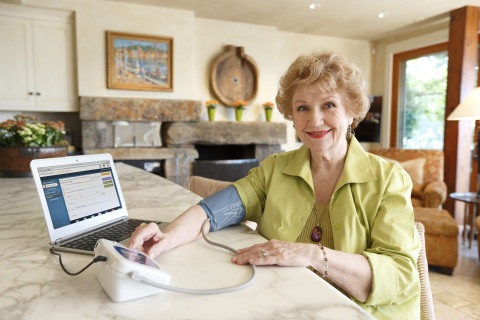 The Care Innovations Connect RCM patient application is accessible via web browser, enabling people to reap the benefits of remote care management without requiring the use of a telehealth-specific device. (Photo: Business Wire)