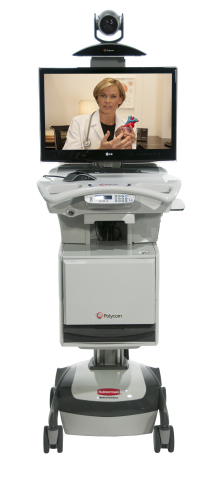 Polycom RealPresence Practitioner Cart helps healthcare professionals bring expert care to patients  ...