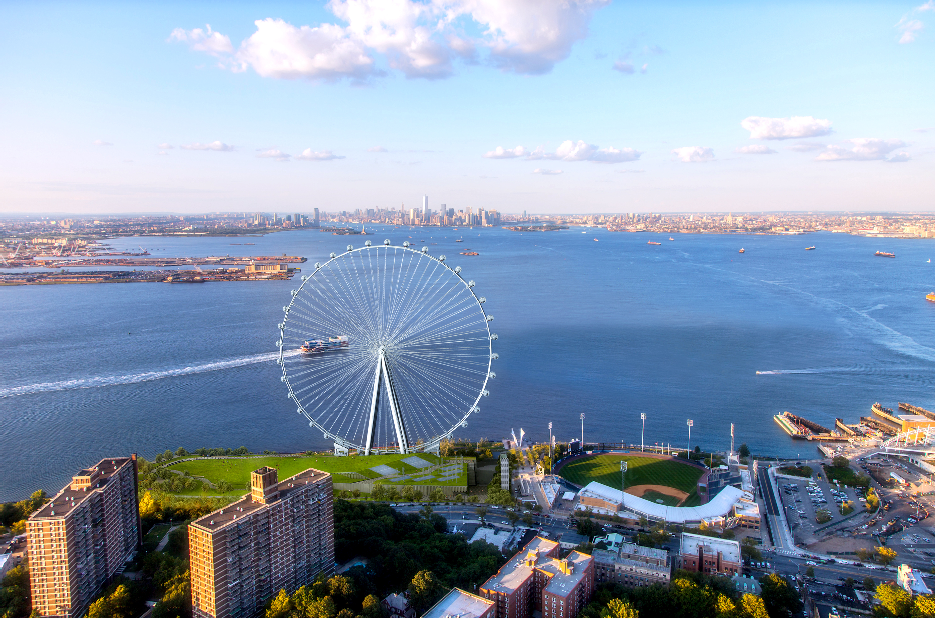 New York Wheel and Empire Outlets Secure Final Approval from New ...
