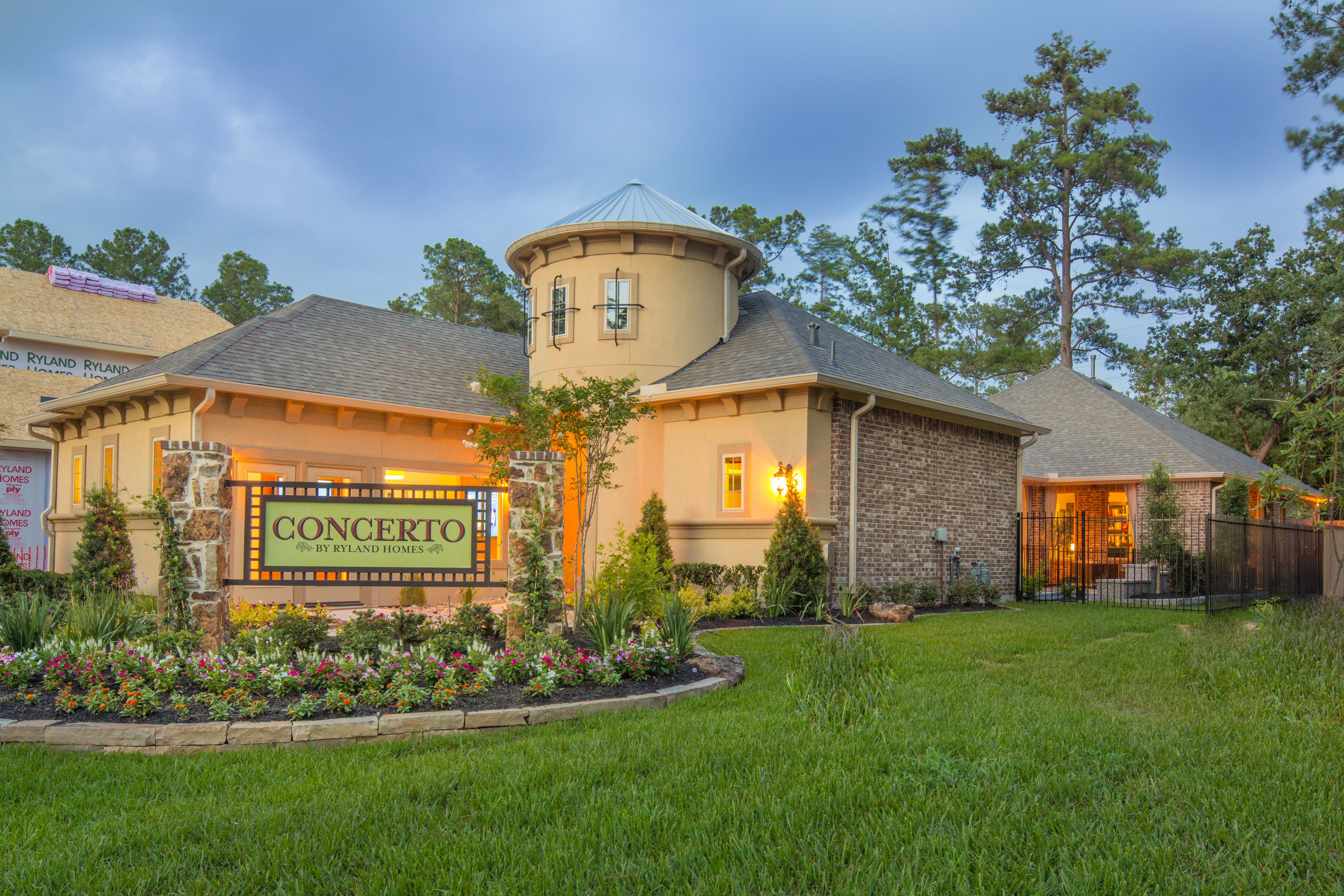 Ryland Homes Introduces A New Home Series U2013 The Woodlands Concerto  Courtyard | Business Wire