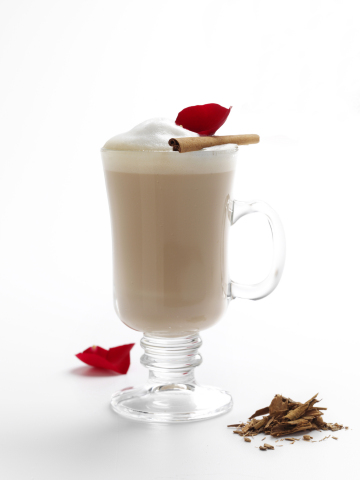 Decadent milk-based teas like this Cinnamon Rose Latte available exclusively at www.gotmilk.com (Photo: Business Wire)