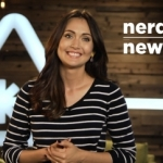 Host Jessica Chobot on the set of Nerdist News (Photo: Business Wire)