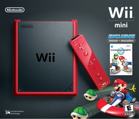 Wii mini is for those who don't own a Wii console and want to enjoy a ton of great Wii games on a stylish system at an affordable price. It is also for families who want an additional console in another room, allowing siblings and friends to play while the rest of the family enjoys other entertainment and games on the main living room TV screen. (Photo: Business Wire)