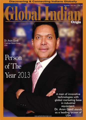 Aron Govil - Person of The Year 2013 (Photo: Business Wire)