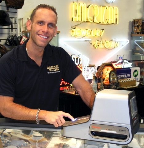 Seth Gold, who manages the internationally-known store American Jewelry and Loan.  (Photo: Business  ...