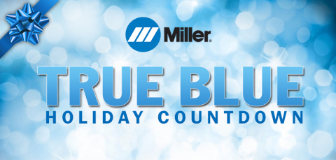 Miller Electric Mfg. Co. has announced the True Blue Holiday Countdown, featuring nine weeks of special offers in the Miller Online Store beginning Nov. 4. (Graphic: Business Wire)