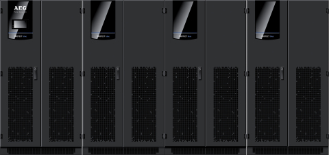 Protect BLUE the new high power data center UPS of AEG Power Solutions (Photo: Business Wire)