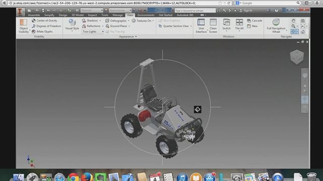 Autodesk has enabled major 3D design and modeling applications, such as Autodesk Inventor, to run in a browser, eliminating the need for powerful workstations.