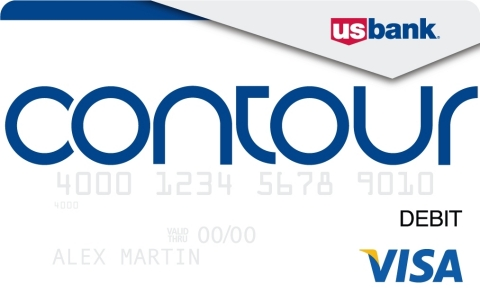the new U.S. Bank Contour Card that gives customers the convenience ...