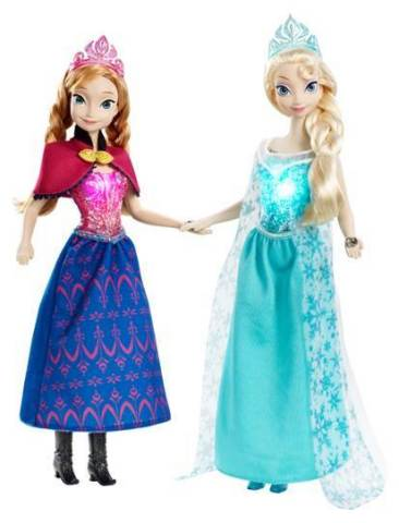 Disney Frozen Musical Magic Elsa and Anna Dolls (Photo: Business Wire)