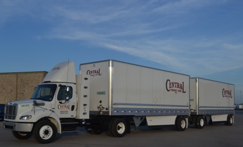 Central Freight Heavy-Duty CNG Truck (Photo: Business Wire)