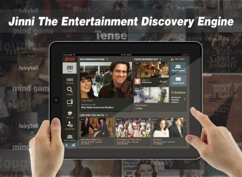 Jinni - The TV & Movie Discovery Engine (Photo: Business Wire)