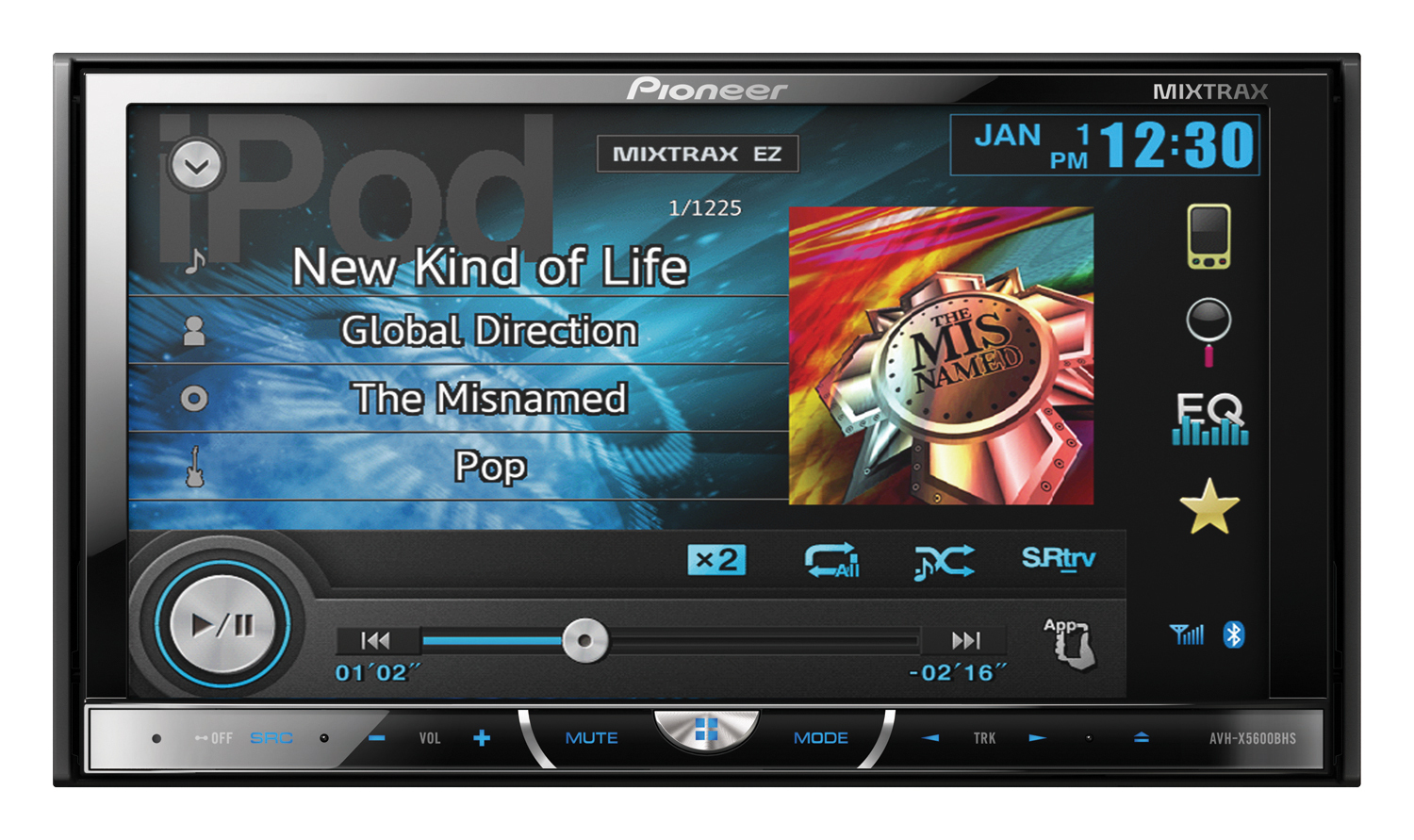 New Line of Pioneer In-Dash Multimedia DVD Receivers Offer the Most ...