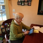 86 year old Audrey recovers with HRS tablet (Photo: Business Wire)