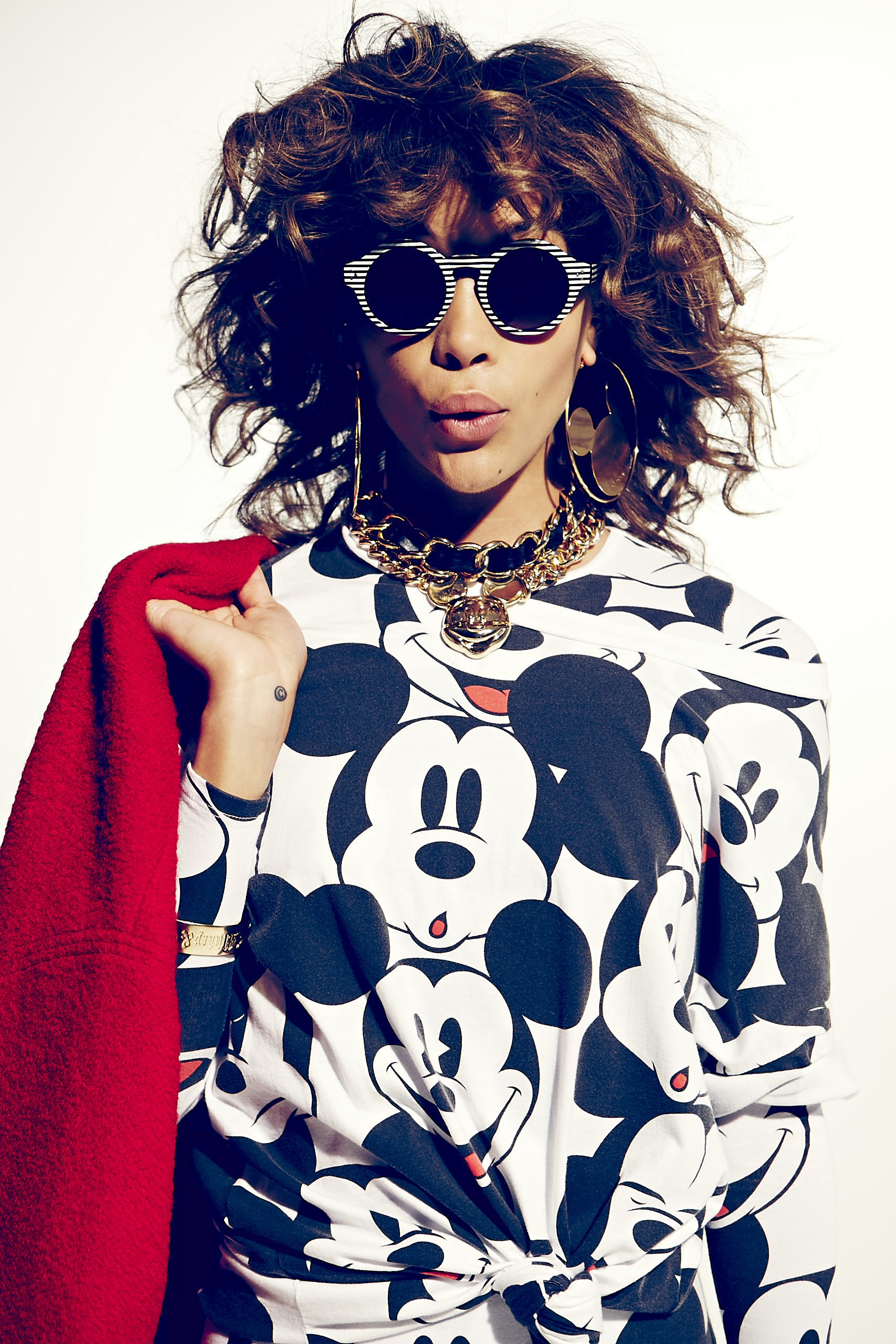 7e1e81417d6 Disney and Forever 21 New Mickey   Co. Collection Brings a Burst of  80 s  Pop-Influenced Fashion Fun to Fans Everywhere