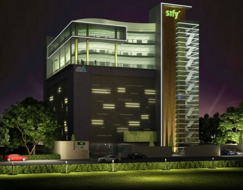 Sify's Fifth Data Centre at Noida, India (Photo: Business Wire)